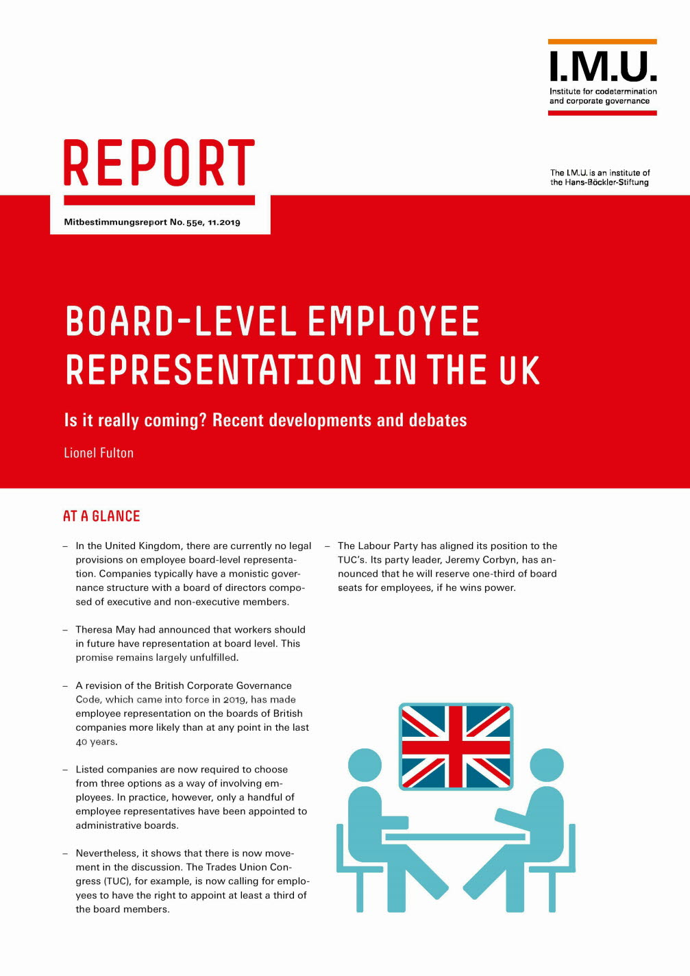 Board-level employee representation in the UK