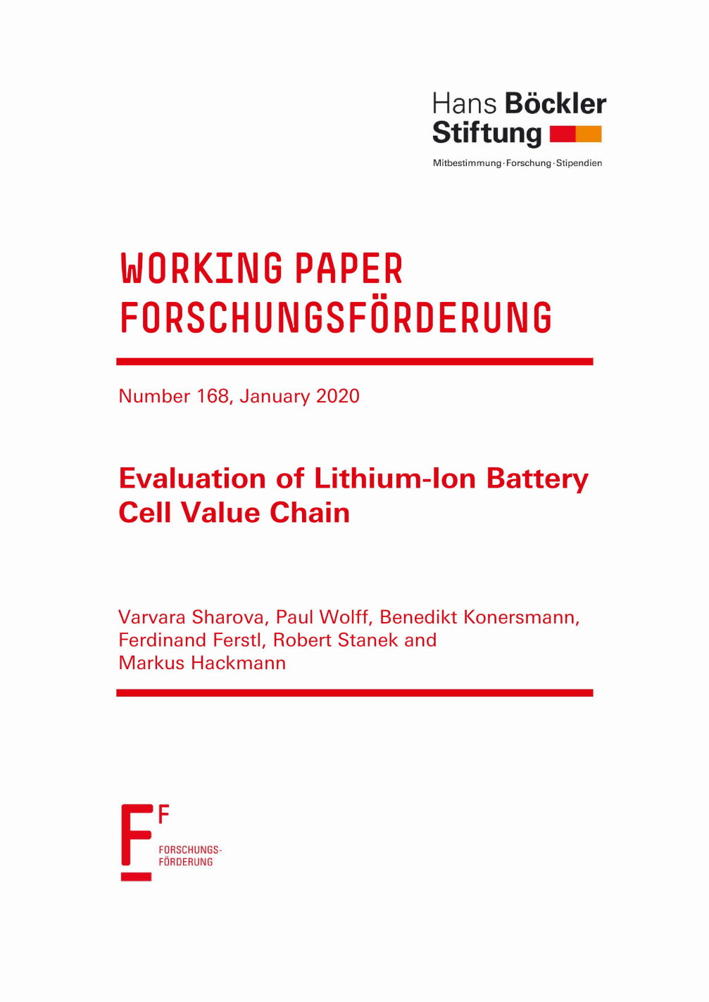 Evaluation of Lithium-ion battery cell value chain